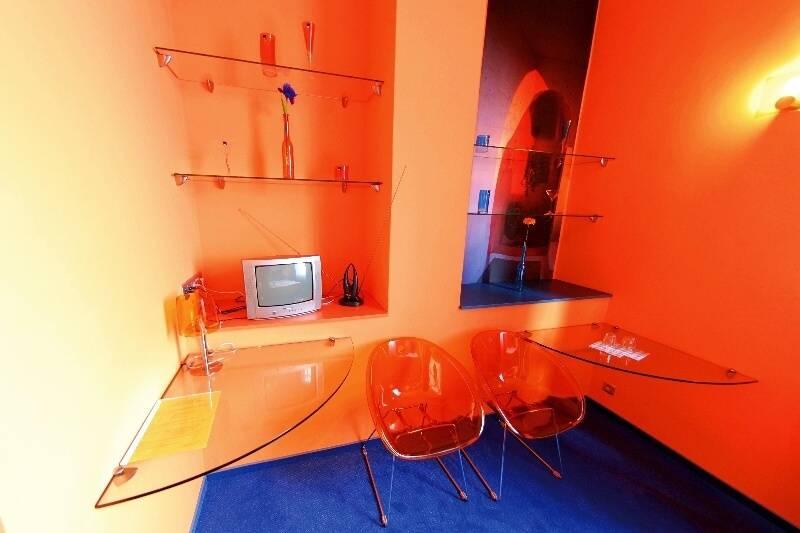 Standard room Hote Liberec - Blue & Orange